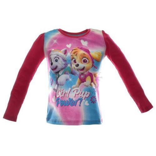 Bluzka dziecięca z bohaterami bajki Paw Patrol Psi Patrol - Kolorowy   Fuksja, kolor wielokolorowy