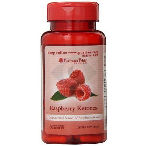 Kapsułki RASPBERRY KETONES 100 mg - 60 KAPSUŁEK- NATURALNY SPOSÓB NA UTRATĘ WAGI