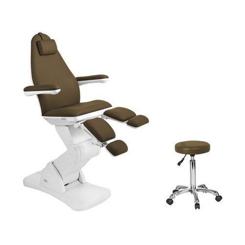 Fotel kosmetyczny elektr. 2244a pedi brąz marki Activ