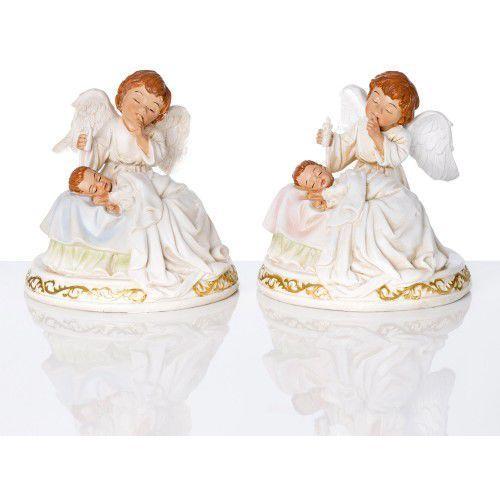 Figura Anioł Stróż z dzieckiem, URJS94138A