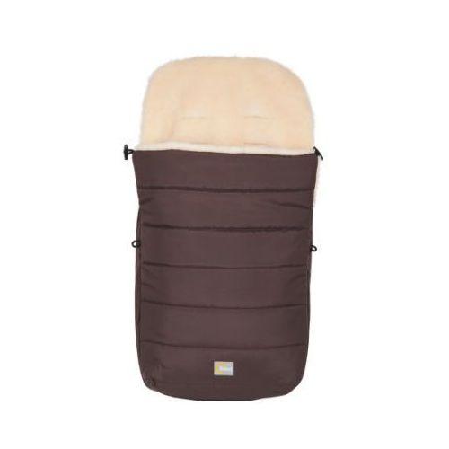 Fillikid śpiworek zimowy do wózka z wełny owczej kolor brązowy (9120062077091)