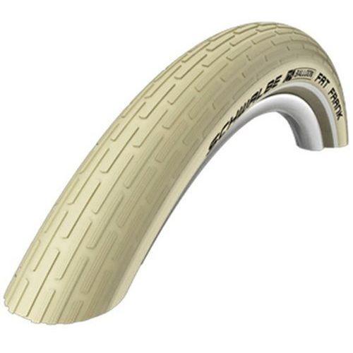 Schwalbe fat frank trekking bike tyre 26 inch beige opony trekkingowe / miejskie (4026495675314)