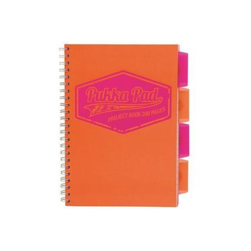 Kołozeszyt project book neon 7300 b5/200k. kratka marki Pukka-pad