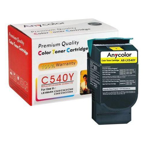 Anycolor Toner lexmark c540 c543 c544 x543 x544 zamiennik żółty 2k