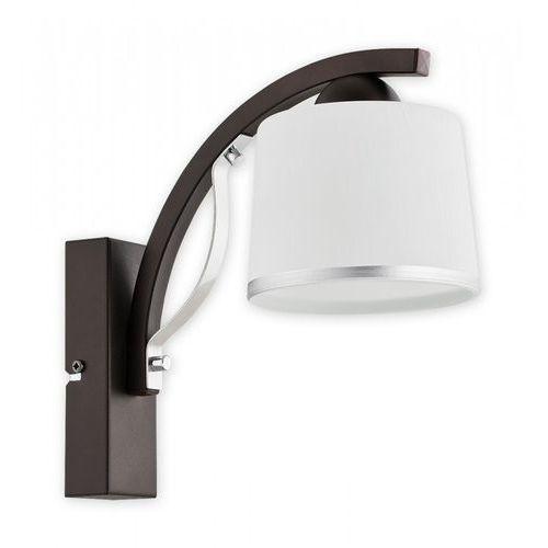 Kinkiet lampa ścienna Lemir Astred 1x60W E27 chrom/rdza/wenge O2280 K1 RW, O2280 K1 RW