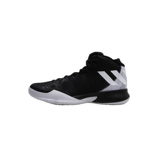 adidas Performance CRAZY HEAT Obuwie do koszykówki black/white