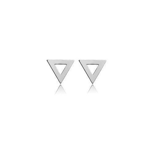 Sztyft baza do kolczyków trójkąty, srebro próba 925, sz 23, marki 925.pl