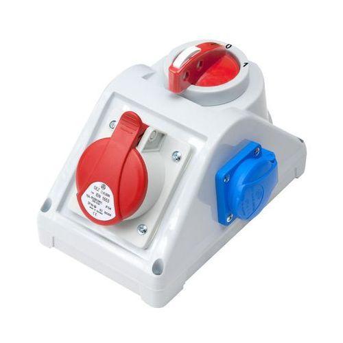 Zestaw siłowy RS-Z wyłącznik L-0-P gniazdo 1x16A/5P 1x230V 6272-20 Elektro-Plast