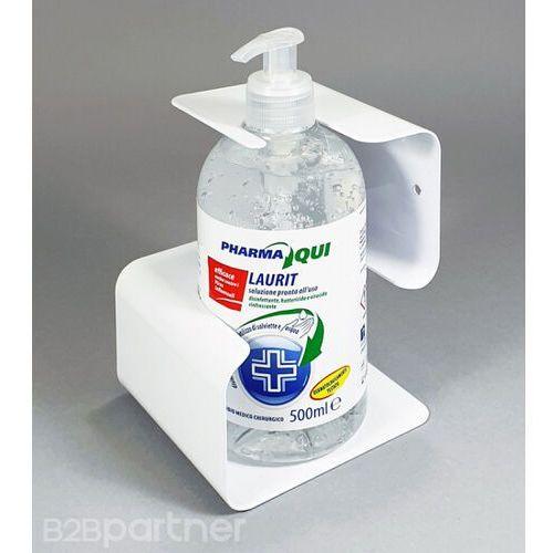 Uchwyt na ścianę z żelem dezynfekującym 500 ml marki B2b partner