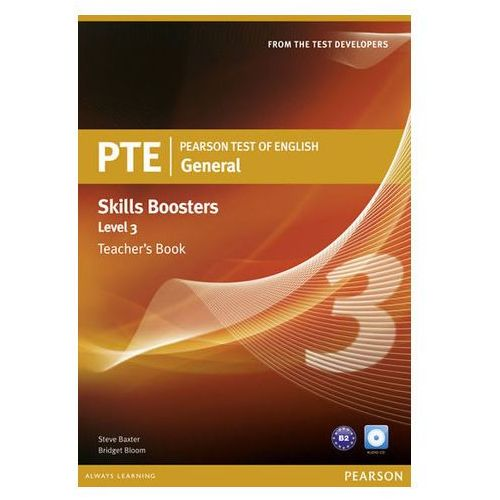 Pearson Test of English General Skills Booster 3 Teacher's Book and CD Pack (9781408277942)