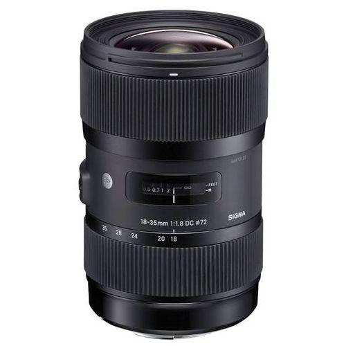 Obiektyw  18-35mm f/1.8 dc hsm (canon) marki Sigma
