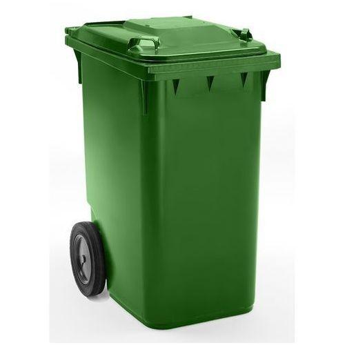 Duży pojemnik na odpady z tworzywa, wg pn en 840, poj. 360 l, wys. x szer. x głę marki Schaefer group