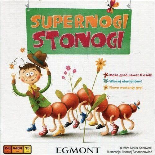 Gra supernogi stonogi - darmowa dostawa od 199 zł!!! marki Egmont