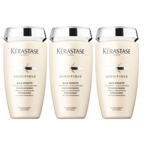 Kerastase densifique densite bain | zestaw: szampon zagęszczający włosy 3x250ml
