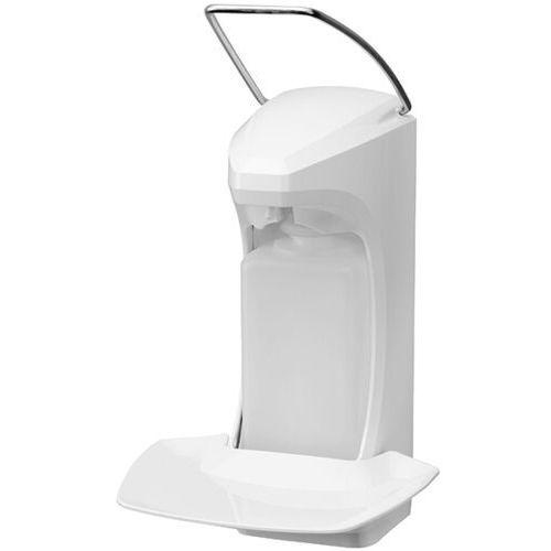 Dozownik łokciowy do płynów dezynfekujących z ramieniem metalowym 0,5l Dozowniki łokciowe, Dozownik na płyn do dezynfekcji