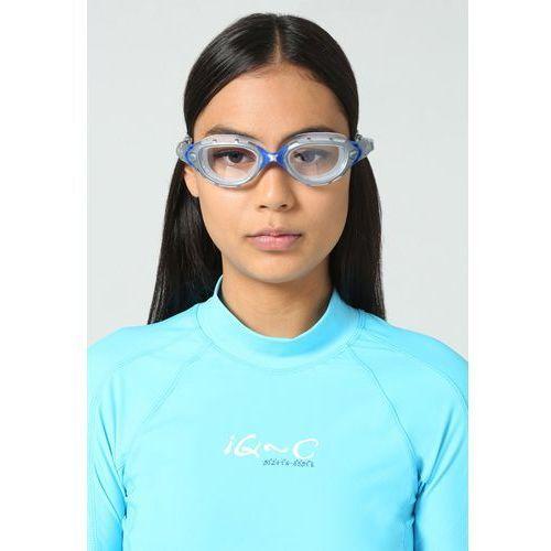 Zoggs  predator flex okulary pływackie clear niebieski/srebrny okulary do pływania