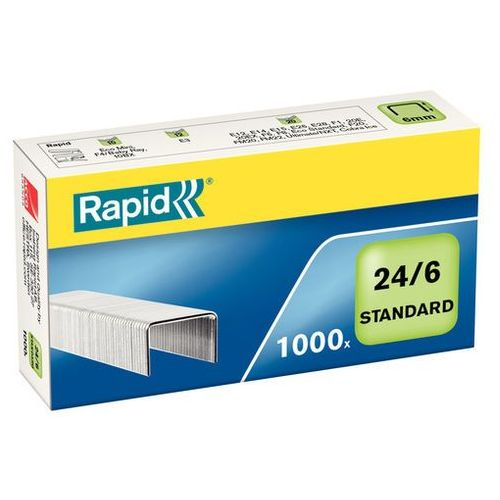 Zszywki standard 24/6 (1000 szt.) marki Rapid