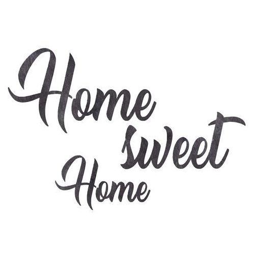 Dekoracja napis na ścianę Home sweet Home - 3 mm (5907509932922)
