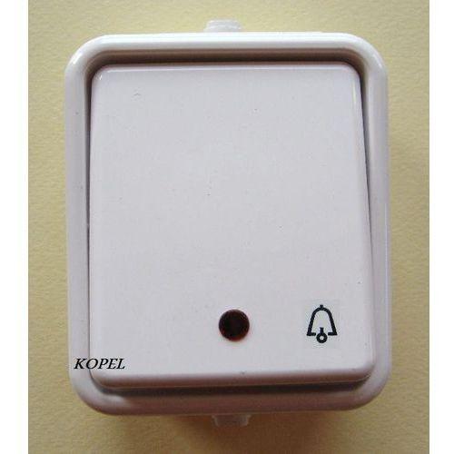 Łącznik zwierny dzwonek podświetlany Cedar - produkt z kategorii- Włączniki