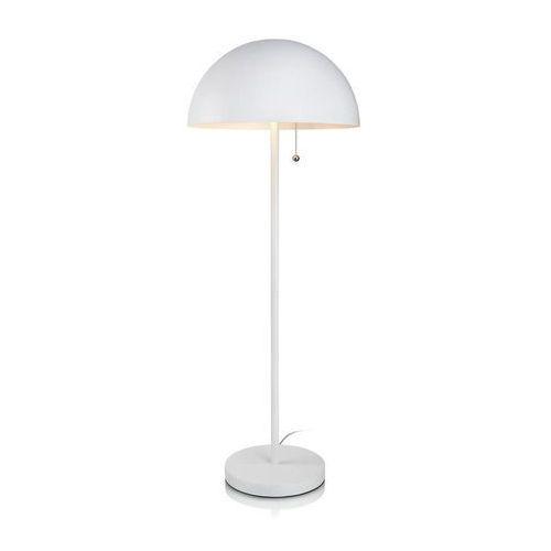 Bas 105276 - lampa podłogowa biała2x60w e27ww marki Markslojd