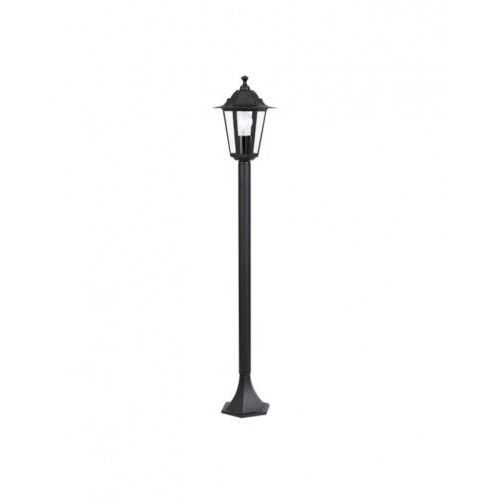 Eglo Lampa stojąca laterna 22144 oprawa zewnętrzna 4 1x60w e27 ip44 100cm czarna (9002759221447)