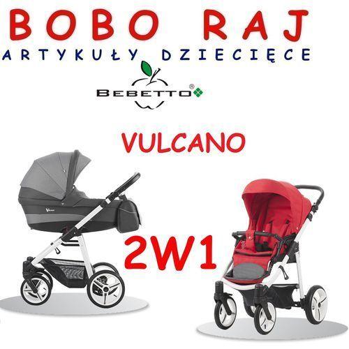 Wózek głęboko spacerowy firmy model vulcano 2w1 marki Bebetto