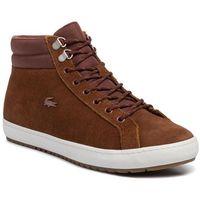Lacoste Sneakersy - straight setinsualac 3191 cma 7-38cma00112c3 brw/off wht