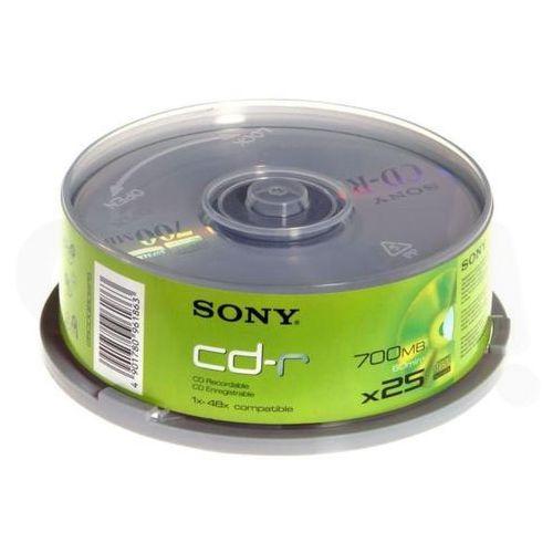 Sony  cd-r 48xspeed (cake 10 szt.) - produkt w magazynie - szybka wysyłka!