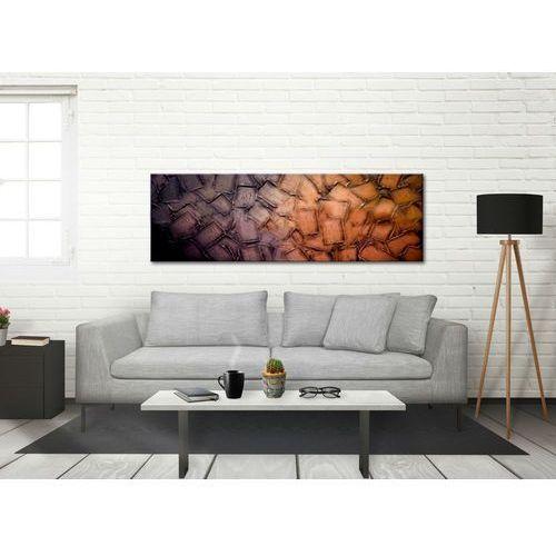 Obrazy do salonu 50x150cm boki 4cm