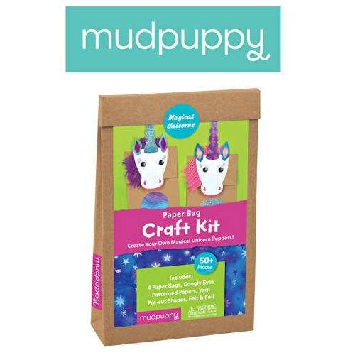 Mudpuppy - Zestaw kreatywny Kukiełki Magiczne Jednorożce 4+