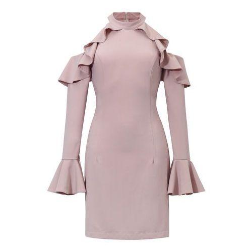 Sukienka Ava w kolorze różowym