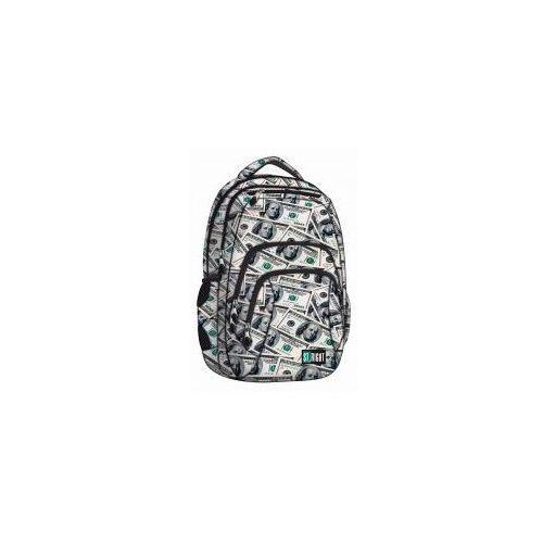 Plecak szkolny 4 komory ST.RIGHT BP-25 Dollars +GR, 5903235617201