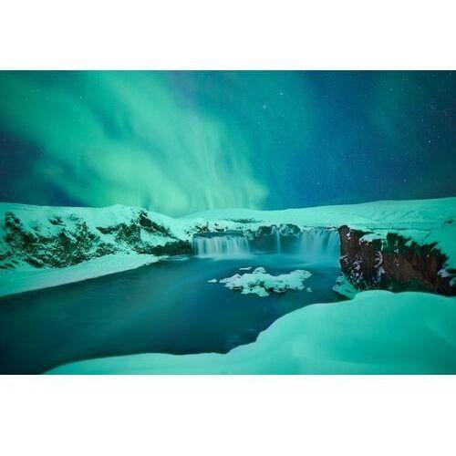 Fototapeta na ścianę zimowy wodospad FP 4707