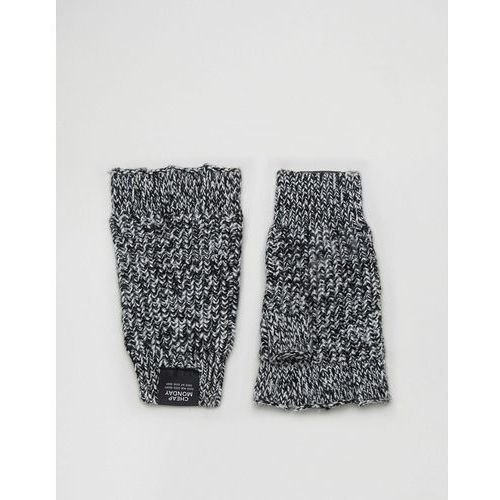 twisted yarn fingerless gloves - multi marki Cheap monday