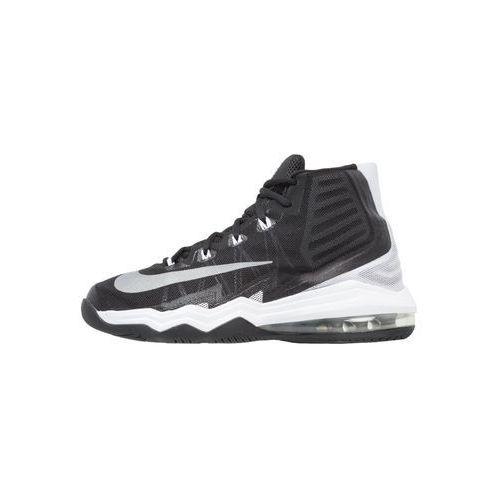 Nike Performance AIR MAX AUDACITY II Obuwie do koszykówki black/reflect silver/white/pure platinum, kolor czarny