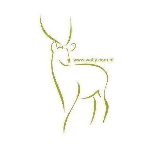 Wally - piękno dekoracji Szablon malarski jeleń 15