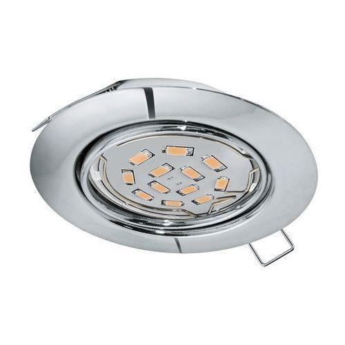 Oprawa wpuszczana downlight oczko Eglo Peneto 1x5W GU10-LED chrom 94241, 94241