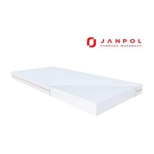hermes – materac piankowy, rozmiar - 200x200, pokrowiec - smart wyprzedaż, wysyłka gratis marki Janpol
