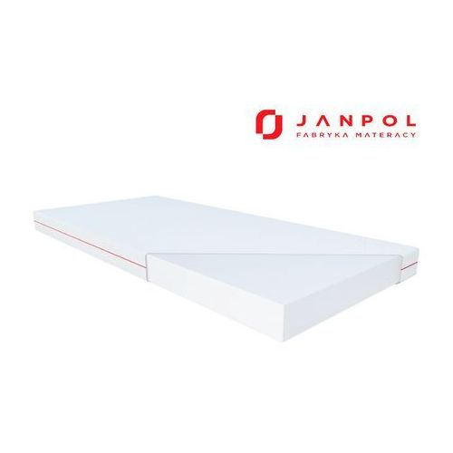Janpol hermes – materac piankowy, rozmiar - 80x190, pokrowiec - smart wyprzedaż, wysyłka gratis (5906267412363)