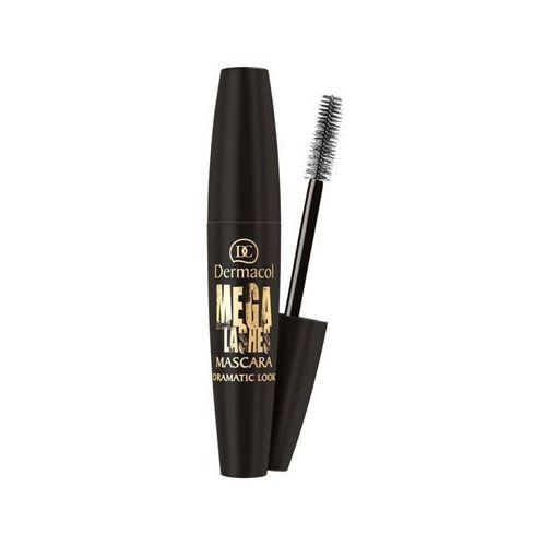 Dermacol mega lashes dramatic look mascara | tusz do rzęs nadający niezwykłą objętość kolor czarny 13ml