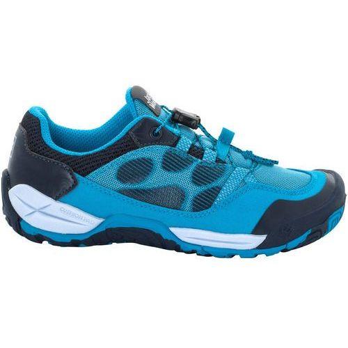 Jack wolfskin jungle gym low obuwie hikingowe blue (4055001802319)