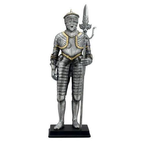 Rycerz w srebrnej zbroi z halabardą (wu74092ac) marki Veronese