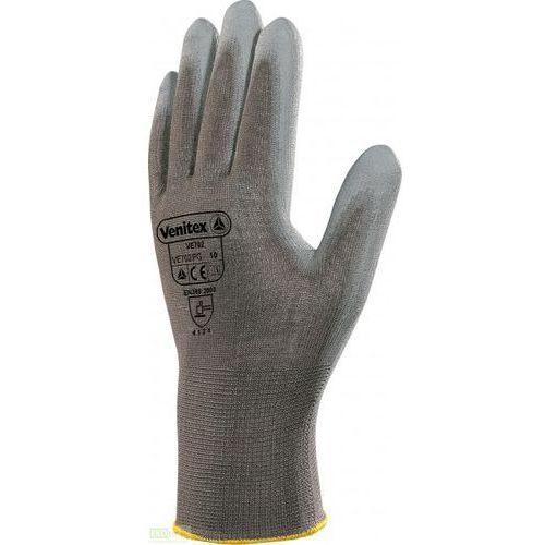 Rękawice do prac precyzyjnych z poliestru szare marki Venitex