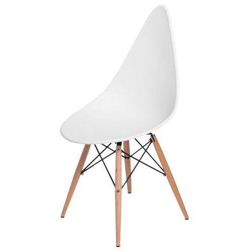 Krzesło Rush DSW białe - biały, kolor biały