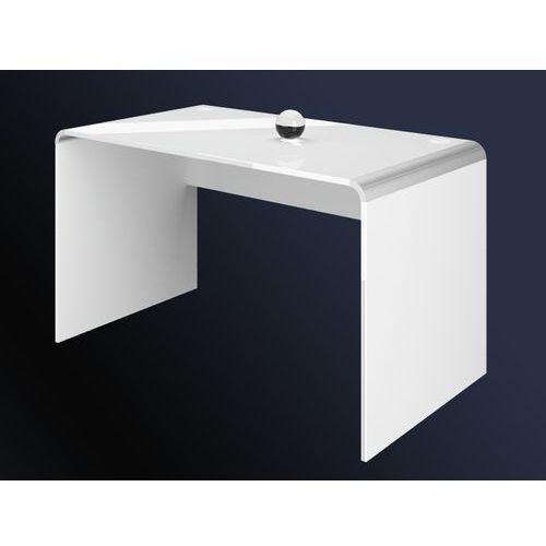 Hubertus design Biurko milano białe 130 wysoki połysk