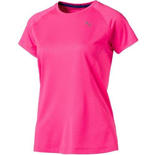 Puma koszulka sportowa speed tee w knockout pink heather m (4056207876463)