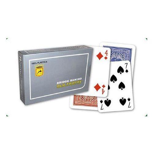 Modiano 4 rogi 100% karty plastikowe - RAMINO OLD TROPHY MOTO