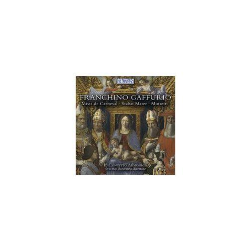 Franchino Gaffurio (1451 - 1522): Missa De Carneval, Stabat Mater, Mottetti, TC 450701