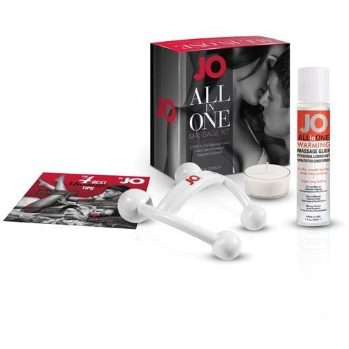 Zestaw olejków do masażu - System JO All-In-One Massage Gift Set