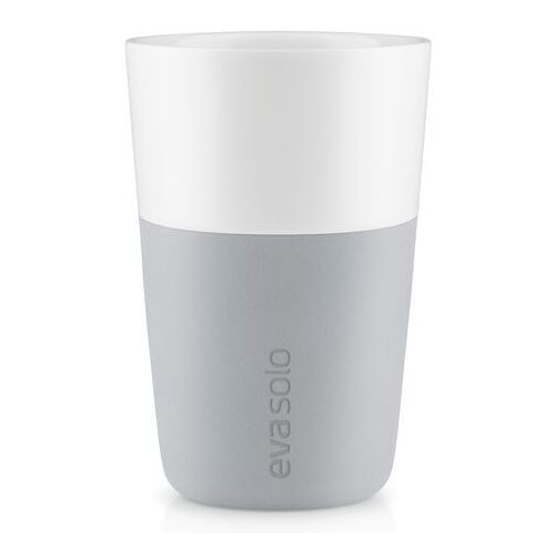 Filiżanki do latte 2 szt Eva Solo Marble Grey, 501046